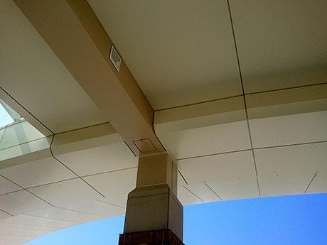01 Hospital Building Composite Wall Panels photo by CASS Sheetmetal Detroit MI