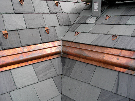 Copper Sheetmetal Fabrication Cornice Soffits Fascia Gutters