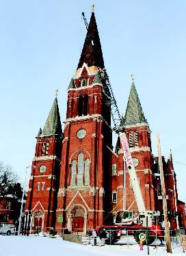 02 St-Josaphat-HIstoric Church-CASS Sheet Metal Detroi-MI