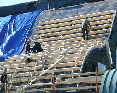 02-St-Paul-Tarsus-Church-Clinton Twp MI Curved-Copper-Roofing-Replacement by CASS Sheetmetal