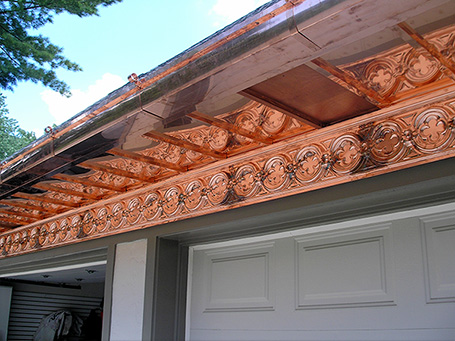 03 Residential Homes Metal Roofing Copper Soffits Gutters CASS Sheetmetal Detroit MI