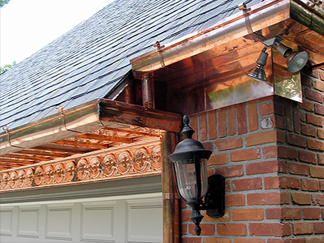 04 Residential Homes Metal Roofing Copper Soffits Gutters CASS Sheetmetal Detroit MI