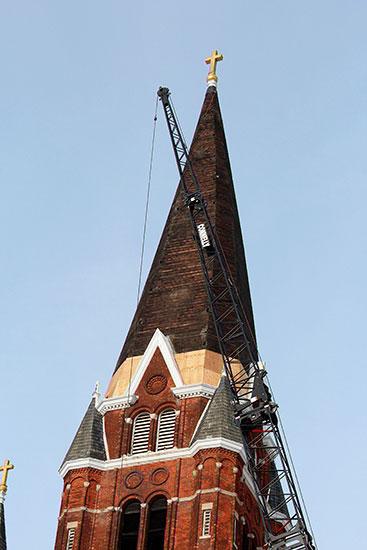 04-St-Josaphat-HIstoric-Church-Steeple-Repair-Detroi-MI