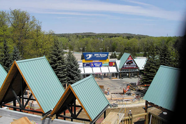 ... DTE Energy Theatre Metal Roofing System Installed By CASS Sheetmetal  Detroit MI ...