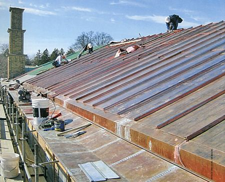 CASS Sheetmetal Cranbrook-Kingswood-School copper roof replacement
