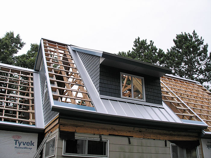 ... 03 Residential Cottage On Lake Metal Roofing Contractors Cass ...
