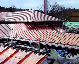 Cranbrook Kingswood School Copper Roofing Replacement