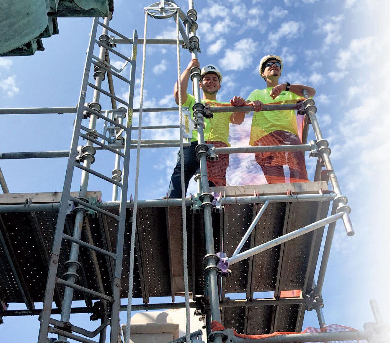 Book Tower Copper Restoration by CASS Sheet Metal Detroit, MI
