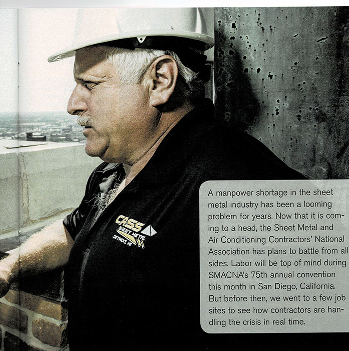 Glenn-Parvin interview about Sheet Metal Industry