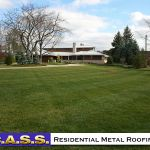 05 Residential Homes Metal Roofing Photos CASS Sheetmetal Detroit MI