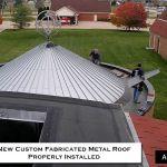 Church Metal Reroofing-Commercial-Building CASS-Sheetmetal Detroit MI