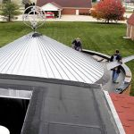 06 Commercial Building Metal Roofing CASS Sheetmetal Specialists Detroit MI