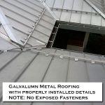 08 Residential Homes Silver Metal Roofing Photos CASS Sheetmetal Detroit MI