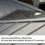 09 Residential Homes Silver Metal Roofing Photos CASS Sheetmetal Detroit MI