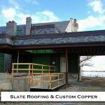14 Custom Cornice Residential Homes Metal Roofing Photo by CASS Sheetmetal Detroit MI