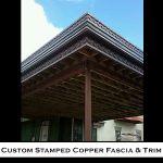 15 Custom Cornice Residential Homes Metal Roofing Photo by CASS Sheetmetal Detroit MI