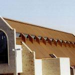 Church Copper Roof replacement by CASS Sheetmetal Detroit MI