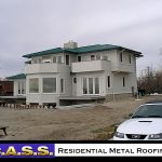 Residential Homes Metal Roofing installation photos by CASS Sheetmetal Detroit MI