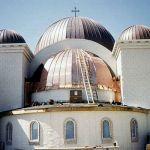 Troy MI Church new Copper Domes custom fabrication by CASS Sheetmetal Detroit MI