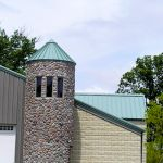 CASS Sheetmetal Fire-Station-Tower-Prefab-Cone-Dome Installation